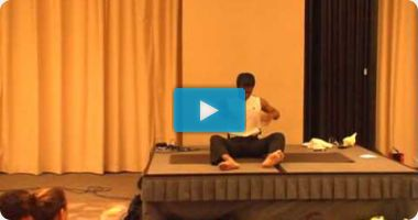 Yogananth's Yoga Demo at Asia Yoga Conference